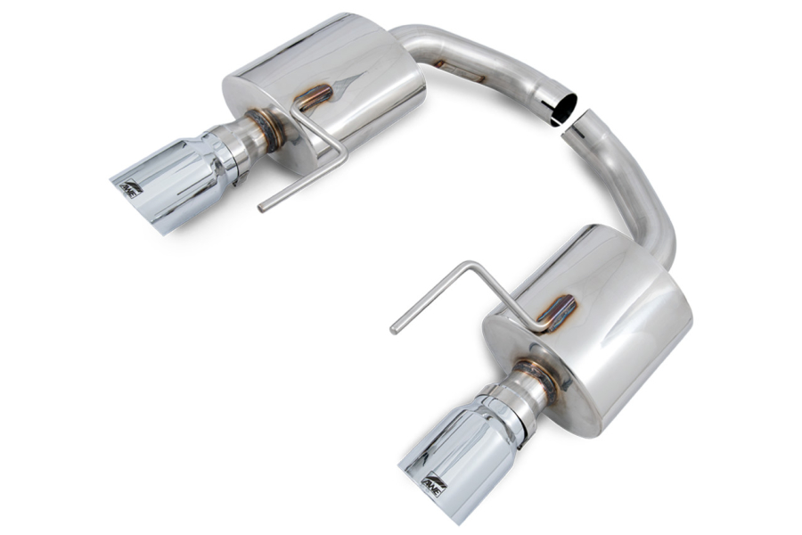 AWE Tuning Touring Edition Axle Back Exhaust Chrome Tips - Ford Mustang GT 2015-2017