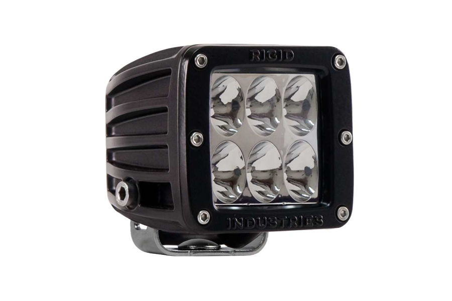 Rigid Industries D2 Driving LED Light Red (Part Number:50133)