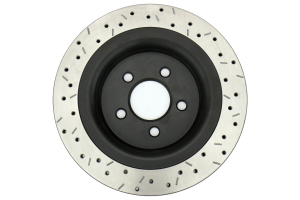 DBA 4000 Series Drilled and Slotted Rotor Rear ( Part Number:DBA 42165BLKXS)