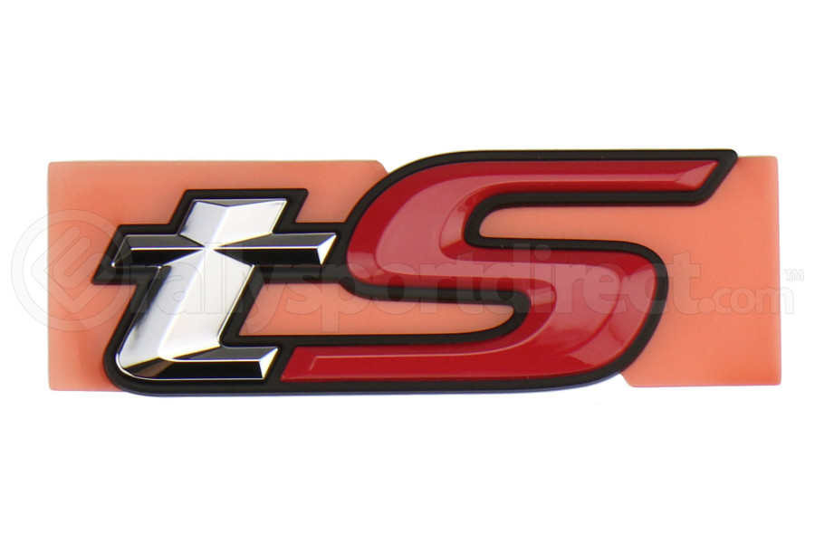 Subaru OEM tS Front Emblem  - Subaru BRZ 2017+