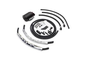 COBB Tuning Air Oil Separator Black/Red  - Subaru Models (inc. 2002-2007 WRX / 2004-2007 STI)