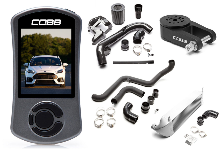 COBB Tuning Stage 2 Power Package Silver - Ford Focus RS 2016+