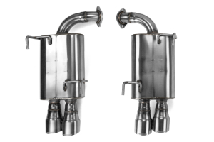 Perrin Axle Back Exhaust ( Part Number: PSP-EXT-348BR)