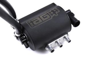 IAG Performance V3 Competition Series Air / Oil Separator Black - Subaru Models (inc. 2004-2007 STI / 2006-2007 WRX)