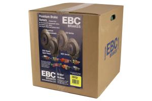 EBC Brakes S1 Rear Brake Kit Ultimax2 Pads and RK Rotors - Subaru STI 2005-2007