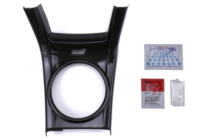 Revel GT Dry Carbon Shifter Panel Cover - Subaru STI 2015 - 2020