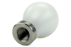 Mishimoto Teardrop Shift Knob White (Part Number: )