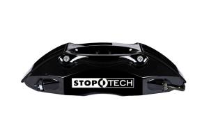 Stoptech ST-40 Big Brake Kit Front 355mm Black Slotted Rotors (Part Number: )