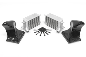 AMS Alpha Intercooler Kit with Carbon Fiber Shrouds - Porsche Models (inc. 2017+ Carrera/Targa)