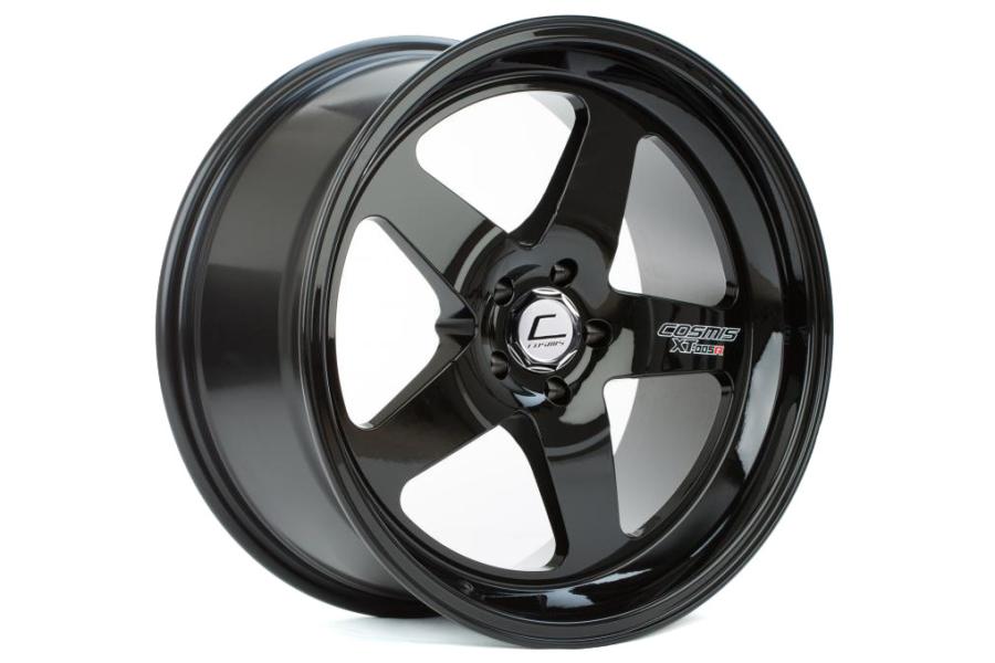 Cosmis Racing Wheels XT-005R 18x10 +20 5x114.3 Black - Universal