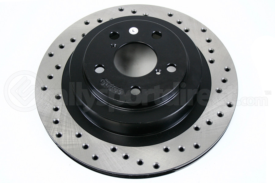 Stoptech Drilled Rotor Single Rear Left ( Part Number:STP 128.47025L)