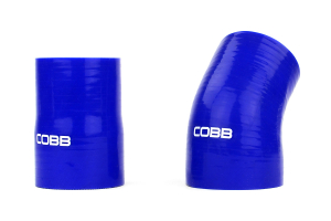 COBB Tuning Lower Intercooler Pipe Hard Kit Gray - Mitsubishi Evo X 2008-2015