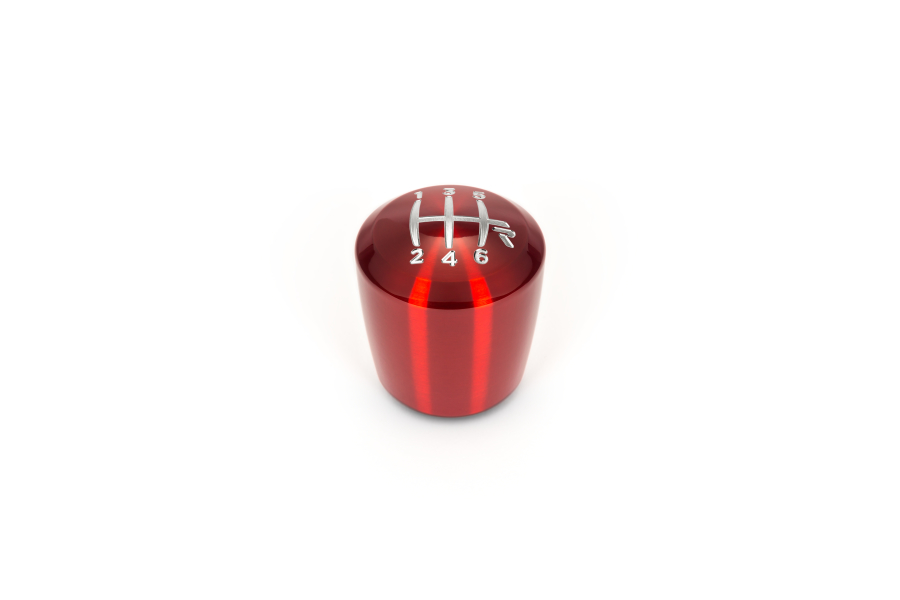 Raceseng Ashiko Red Translucent Shift Knob w/ Engraving (Part Number:08311347)