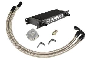Tomioka Racing Oil Cooler Kit w/ Thermostat - Subaru WRX 2015+