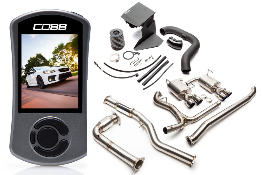 COBB Tuning Subaru Stage 2 + Big SF Power Package Titanium Resonated - Subaru WRX 2015+