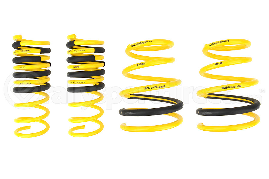 Racecomp Engineering Yellow Lowering Springs (Part Number:GHBIL-330)