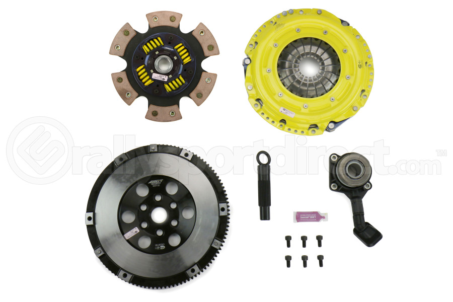 ACT Heavy Duty Race Sprung 6 Pad Clutch Kit w/Flywheel (Part Number:FF3-HDG6)
