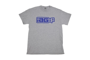 IAG Men's Boxer Logo Shirt Grey - Universal