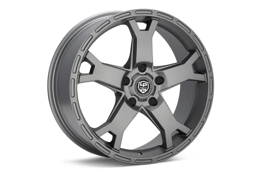 LP Aventure LP2 Wheel 17X8 +20 5x114.3 Matte Grey - Universal