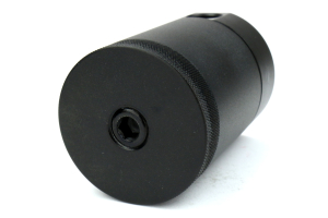 Mishimoto Baffled Oil Catch Can PCV Side Black w/ Black Hose ( Part Number:MIS MMBCC-MUS4-15PBK)