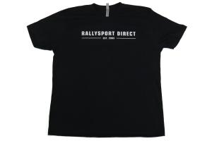 RallySport Direct Vintage Black Premium T-Shirt (Part Number: )
