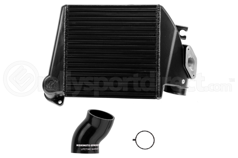 Mishimoto Black Top Mount Intercooler w/ Black Hose - Subaru WRX 2008-2014