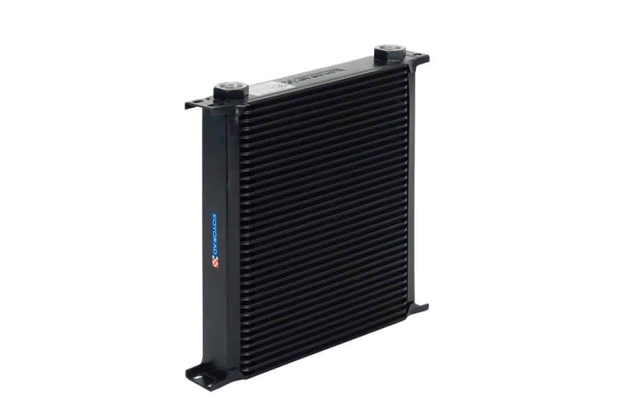 Koyo Universal 35 Row Competition Oil Cooler Black - Universal
