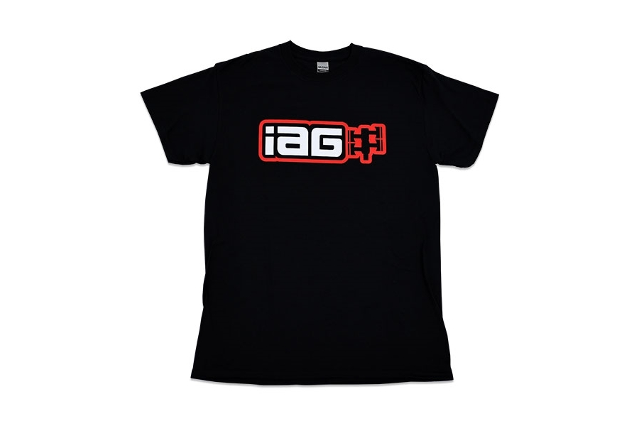IAG Men's Boxer Logo Shirt Black - Universal