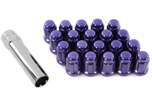 Muteki Lug Nuts 12x1.25 Closed End Purple (Part Number: )