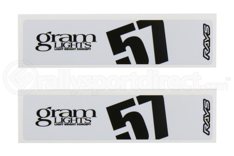 Gram Lights 57DR / 57CR Spoke Sticker White (Part Number:WC57SSTKW)