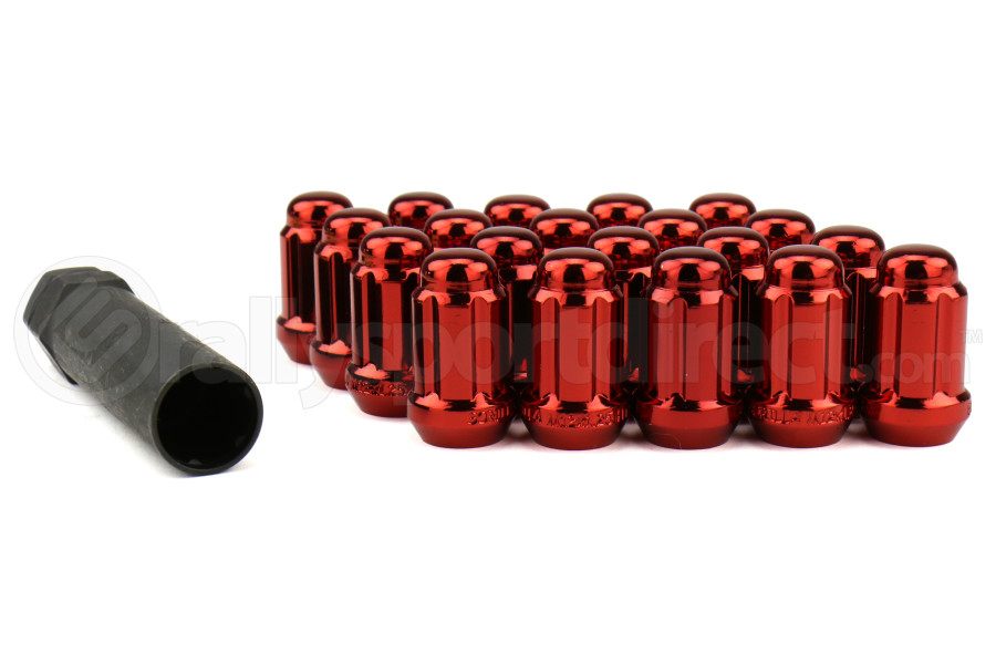 Gorilla Small Diameter Acorn Red Lug Nuts 12x1.25 (Part Number:21123RD)