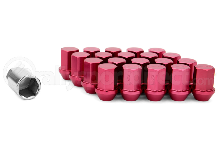 volk racing rays 35mm 12x15 lug nuts red w351215r free shipping