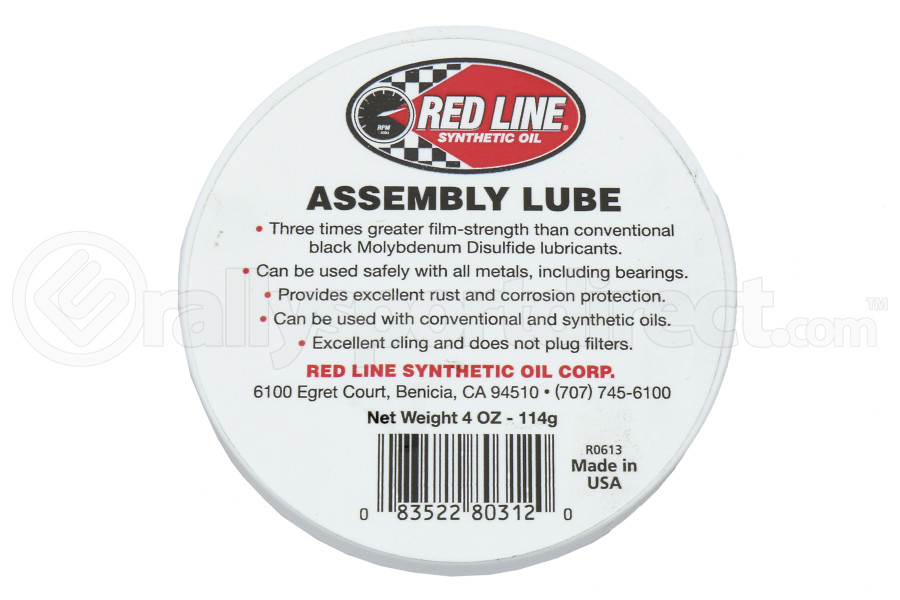 Red Line Engine Assembly Lube 4oz (Part Number:80312)