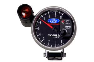 Autometer Ford Racing Cobra Jet Pedestal Tachometer Gauge w/ Shift Light 5in - Universal