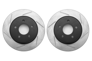 Stoptech Slotted Rear Rotor Pair ( Part Number:PWS 126.61099S-GRP)