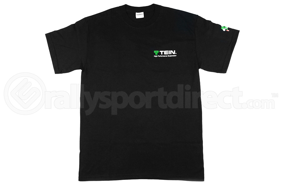 Tein Coilover Diagram T-Shirt Black (Part Number:TN004-006)