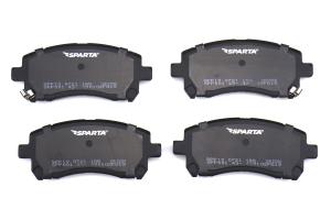 Sparta Evolution SPP 1.0 Front Brake Pad Set - Subaru Models (inc. 2002 WRX / 1999-2001 2.5RS)