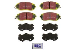 EBC Brakes Yellowstuff Street And Track Front Brake Pads - Subaru/Scion Models (inc. 2011-2014 WRX / 2013+ BRZ / 2013-2016 FR-S)