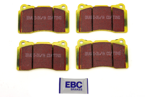 EBC Brakes Yellowstuff Street And Track Front Brake Pads ( Part Number: DP41210R)