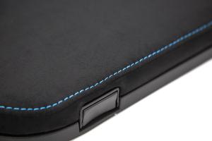 Helix OEM Style Alcantara w/ Blue Stitching Arm Rest - Scion FR-S 2013-2016 / Subaru BRZ 2013+ / Toyota 86 2017+