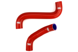 Samco Radiator Hose Kit Red - Subaru WRX/STi 2002-2007