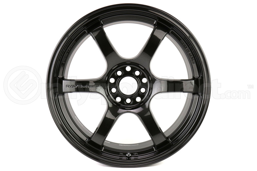 Gram Lights 57DR 18x9.5 +38 5x114.3 Glass Black - Universal