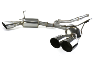 GReddy EVOlution GT Dual Muffler Cat-Back Exhaust ( Part Number:GRE 10168300)