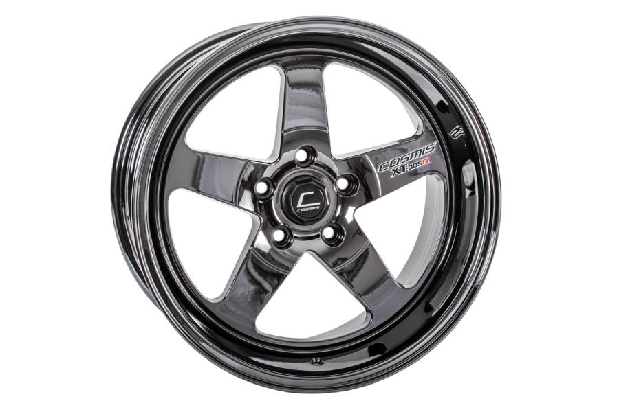Cosmis Racing Wheels XT-005R 18x10 +20 5x120 Black Chrome - Universal