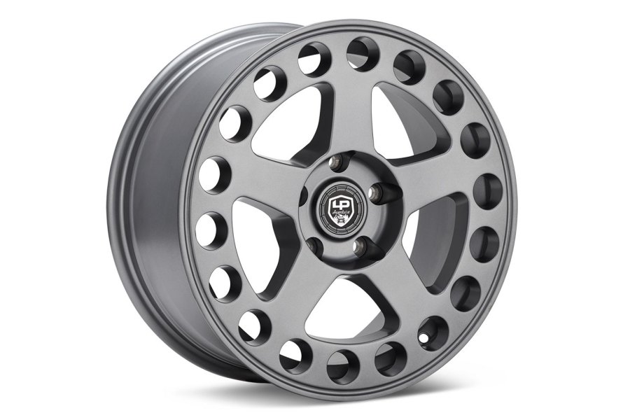 LP Aventure LP5 Wheel 17X8 +45 5x114.3 Matte Grey - Universal