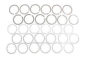 Cosworth Piston Ring Set 96mm Bore VQ35 (Part Number: 20001514)