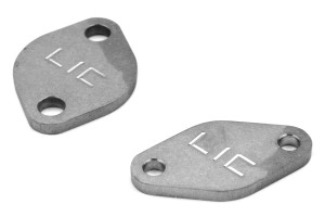 LIC Motorsports Air Pump Delete Plates ( Part Number:LIC 073109)