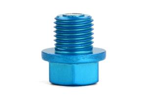KICS Magnetic Oil Drain Plug Bolt M14X1.50 Blue - Mitsubishi/Mazda/Honda/Suzuki