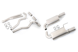 cp-e Austenite Cat Back Exhaust w/ Titan Tips - Ford Mustang EcoBoost 2015+