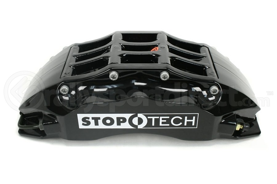 Stoptech ST-60 Big Brake Kit Front 355mm Black Slotted Rotors (Part Number:83.838.6700.51)